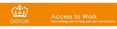 image of government UK access to work program